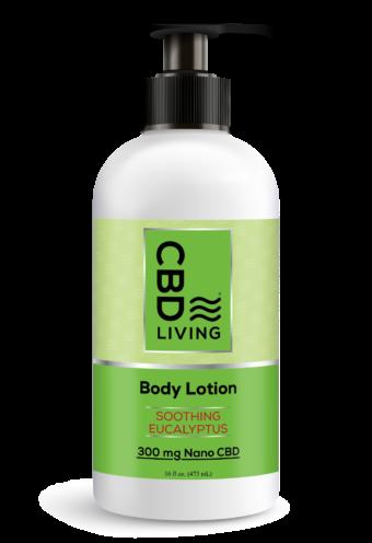 Lotion hydratante au CBD - Arôme Eucalyptus