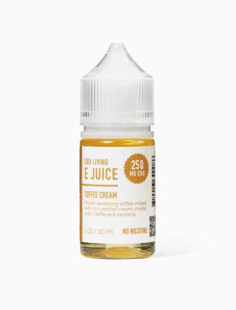 CBD Living E-Liquide 250MG - Toffee Cream