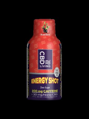 Energy Shot au CBD - Mixed berry