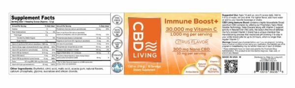 Immune Boost au CBD